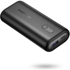 POWERADD Versi/ón Mejorada Pilot X7 20000mAh Power Bank Cargador M/óvil Port/átil Bater/ía Externa con 2 Salidas USB 3.1A para iPhone iPad Samsung Dispositivos Android Tablets y M/ás Color-Negro